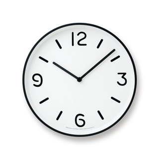 LC10-20A WH Black and White Pure Clock - White