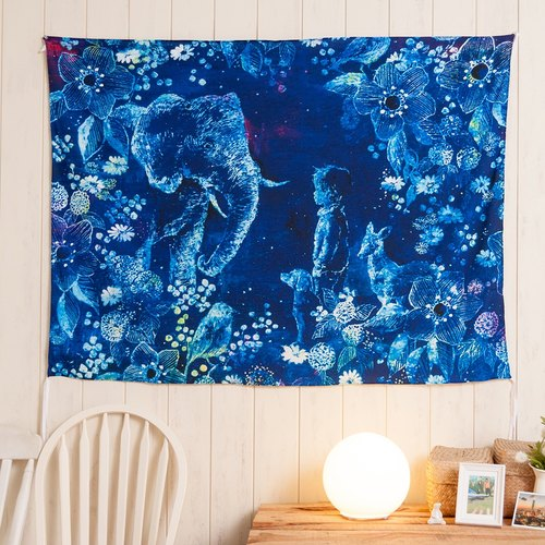▷ Umade ◀ Secret Garden Secret Place [L] - Furnishings Home Decor Wall Tapestry wall mantle wall decoration mural paintings arranged home furnishings interior design activities arranged - Yoko Sueyoshi Sueyoshi Yoko [L 150x200cm]