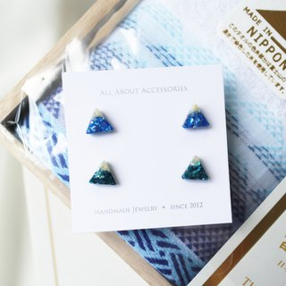 Mr Fuji earrings set