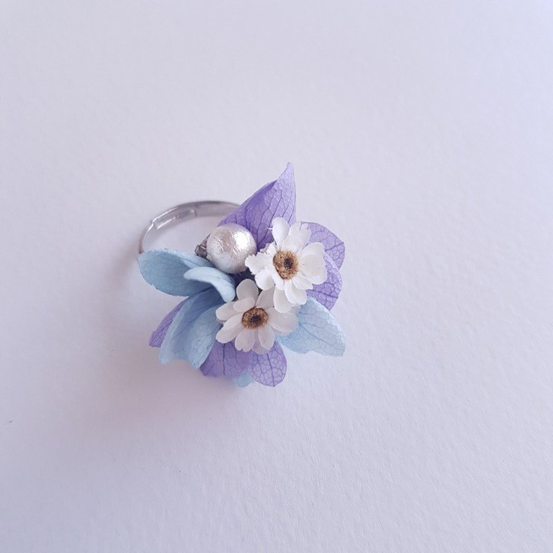 Customized Japanese material without a flower dry flower ring