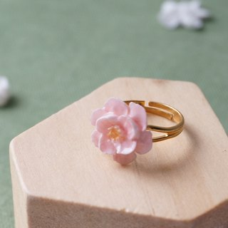 Camellia Ring =Flower Piping= Customizable