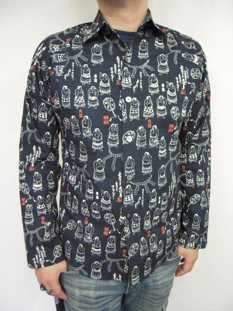 Long-sleeved shirt Japanese Pattern (sumo pattern)