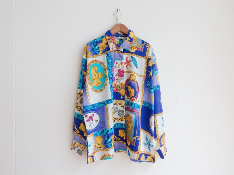 Vintage / shirt / long sleeve no.161