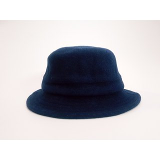 British disc gentleman hat - rate blue (hard type) #限量#秋冬#礼物#暖暖#厚羊毛