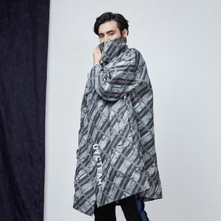 DYCTEAM - Jacquard Trench Coat