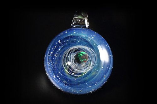 Spiral Universe Universe glass ball no.57