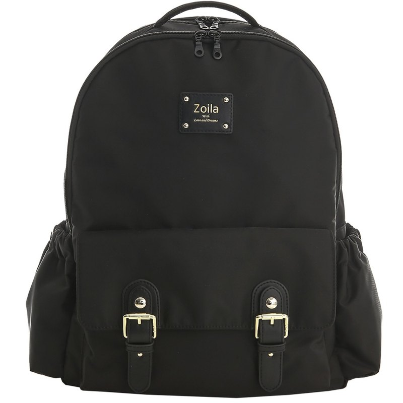 Chinese New Year 10% off large-capacity multi-storage _ layered front and rear _ backpack _ classic black Go Go Bag _ mother bag
