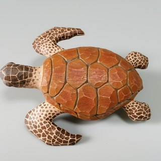 Turtle (wood carving art)