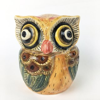 Nice Little Clay three-dimensional hand-decorated decorations _ Owl 6