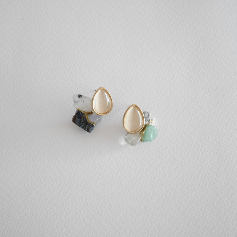 Jin Ji earrings ピアス / イヤリング | sea extension no.99