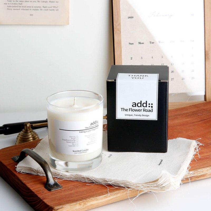 天然大豆蠟香氛蠟燭 | 180g | 多款香氣擇1