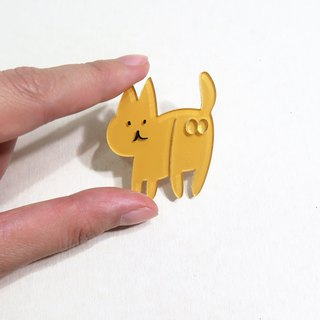 Innocent Cat Brooch