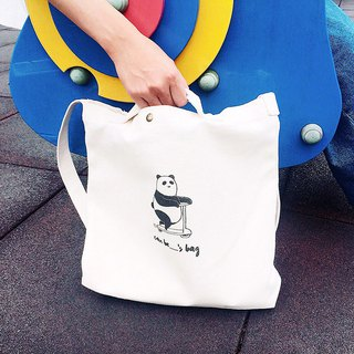 Fat reach out - shoulder canvas bag