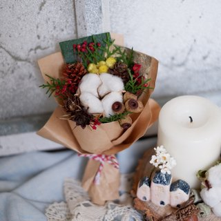 To be continued | Christmas dried flowers small bouquet exchange gifts gifts Home Furnishing decoration small things to heal Christmas spot