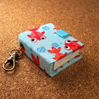 [Goldfish eyes watery] mini small phase key ring 5cmX4.3cm - custom small things
