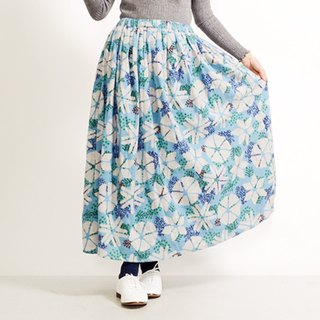 Snow Crystal Flower Nell Skirt