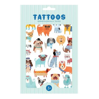 Dutch Petit Monkey – Dog Big Collection Tattoo Stickers