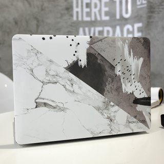 Pattern Lab | Hardshell Case for MacBook Pro w/ USB-C-Ink marble