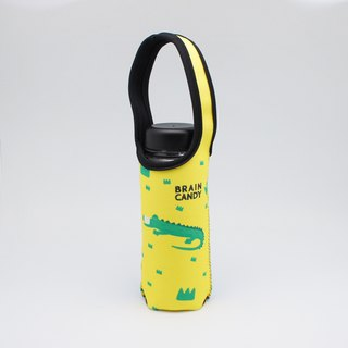 BLR Water Bottle Tote BRAIN CANDY [ Crocodile Cat ] TC49