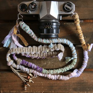 Rip cloth hemp string hemp camera strap # 6 / belt