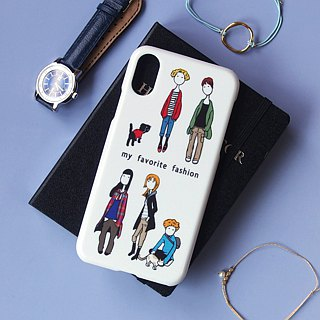 Plastic android phone case - My Fashion -