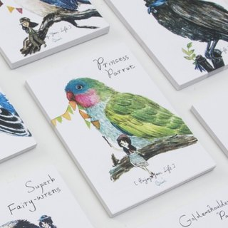 {BIRDER} -10 series into postcards Kits