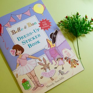 Belle & Boo dressing game Sticker Book
