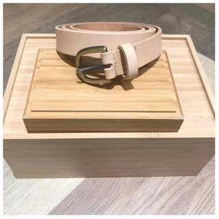 Affinity | Partial Affinities Leather Handmade Belt (Coarse)