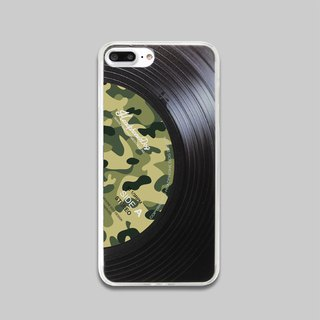 Vinyl iPhone Case iphoneX/8/7/6/5/se