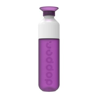 Dutch dopper water bottle 450ml - purple brew