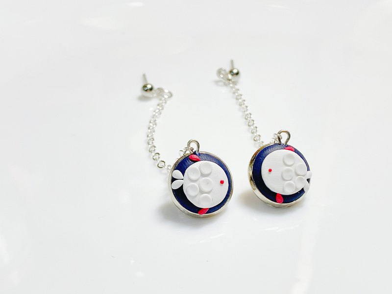 Sweet Bubble Fish Drop Earrings / Ear Clip