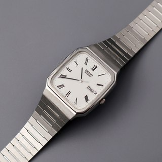 SEIKO Premium Suya Roman Time Scale Quartz Antique Watch