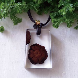 【She Shines】 Forest Department - Chrysanthemum Amber Necklace # Chrysanthemum Vine