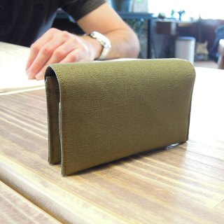 Eco-friendly Stand-up Card Holders - Multi-purpose - Olive Green