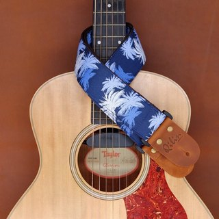 Blue Hawaii Guitar Strap