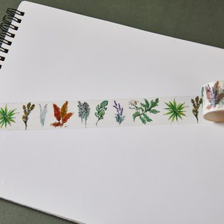 Edible Herbs Washi Tape