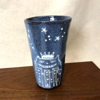 Cat Street Starry Sky Tumbler mini Pottery Cup