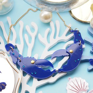 Lobster Statement Necklace