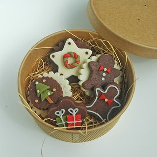 Merry Christmas-Biscuit Soap Gift Box (five into) #2018PinkoiXmas