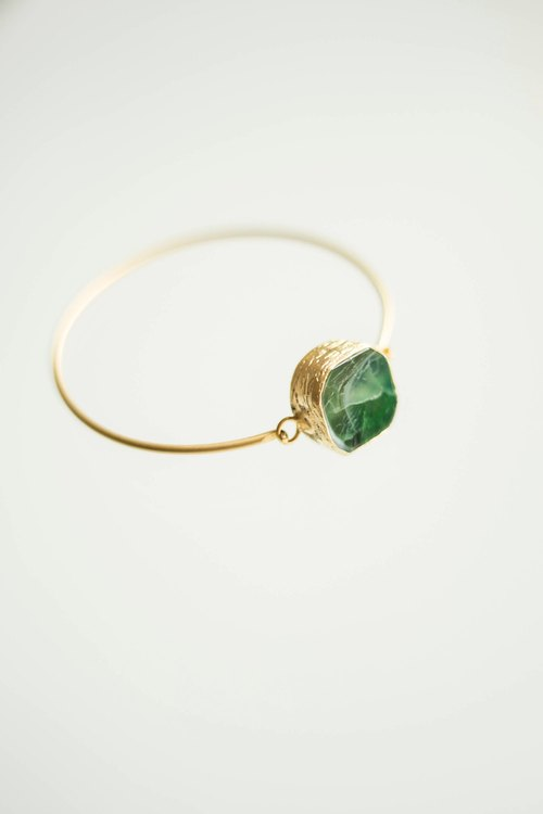 Jade Bangle Bracelet Crystal Bracelet Gemstone Bangle Crystal Bangle Gemstone Bracelet Girlfriend Gift For Her Gold Bangle Gold Bracelet