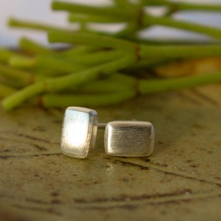 Rectangular - Silver Earrings / Sterling Silver / Earrings / 耳環 / 銀