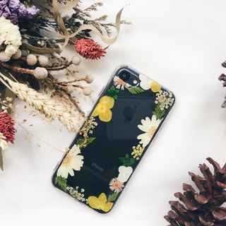 Flower Frame • Handpressed Flower Phone Case