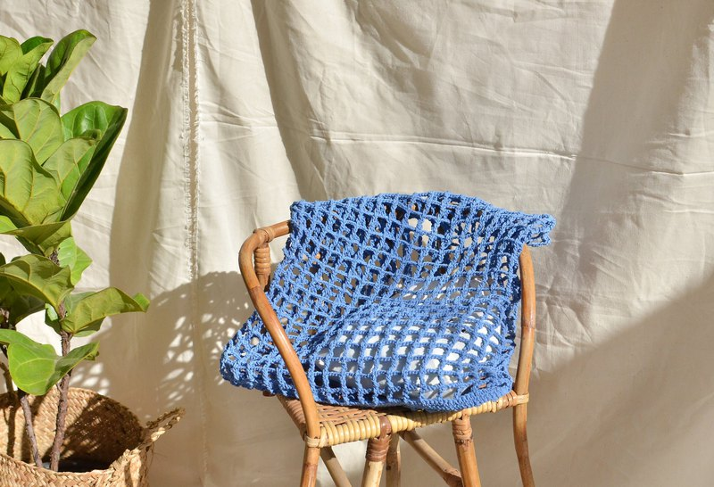 Blue sky Nagridia crochet bag