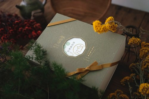 [Lang tea] window flowers tea gift box | moon (1 cans 1 box)