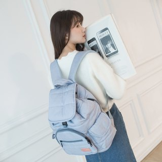 【Full blessing treasure】 Behind the backpack - quiet tannin blue