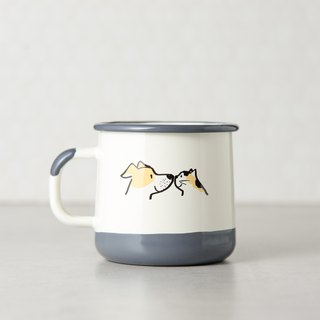 Dog Maji enamel cup -400ml