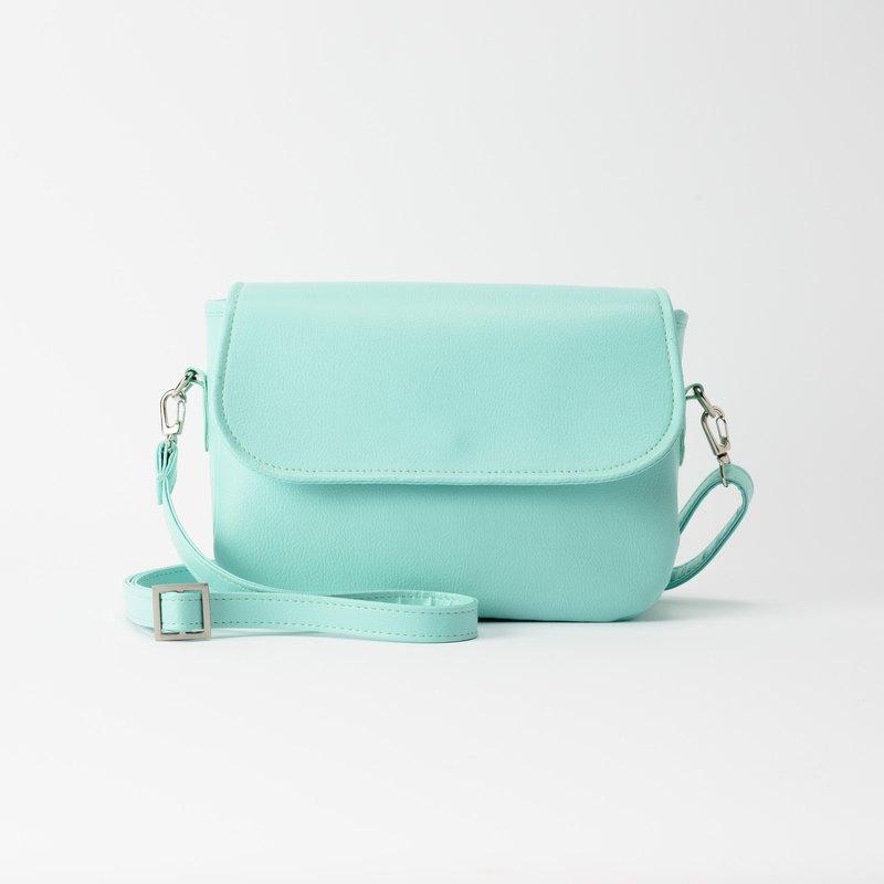 Rounded Side Backpack Tiffany Blue Designer Spring Orchid I