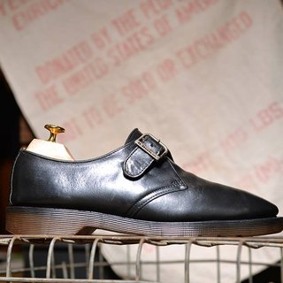 """Dr. Martens Shoes"" Black Monk shoes DMC08"