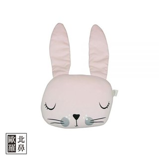 Mister Fly Animal Shaped Pillow - Pink Bunny