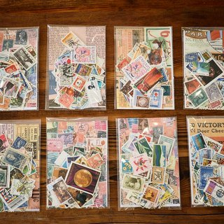 World antique old stamps package for sale